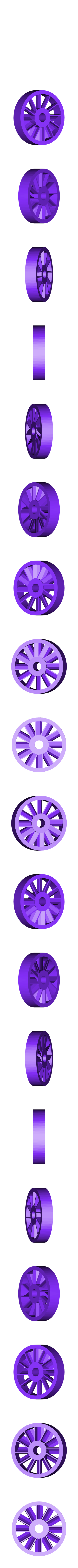 Rotor_Hand-held.STL Download free STL file Turbine Rotary Tool 60,000 rpm • 3D printing object, Jeypera3D