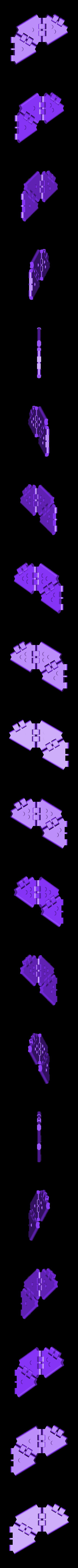 hexa.stl Télécharger fichier STL gratuit Un autre Hexaflexagon • Objet imprimable en 3D, bobodurand4589