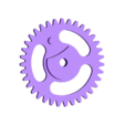 35_tooth_for_geneva_mechanism.stl Télécharger fichier STL gratuit Amélioré ! iPhone Gear Case avec mécanisme de Genève • Objet pour impression 3D, bobodurand4589