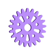 21-2_tooth_upper_left_connected_to_big_gear_and_upper_left_connected_to.stl Télécharger fichier STL gratuit Amélioré ! iPhone Gear Case avec mécanisme de Genève • Objet pour impression 3D, bobodurand4589
