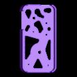 iPhone_4S_Gear_Case_Shell.stl Télécharger fichier STL gratuit Amélioré ! iPhone Gear Case avec mécanisme de Genève • Objet pour impression 3D, bobodurand4589