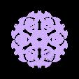 bat_flake.STL Télécharger fichier STL gratuit Bat Flake • Plan imprimable en 3D, Ghashnarb