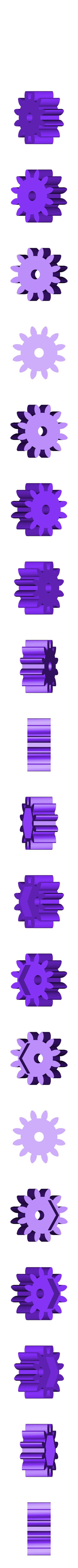 Metric_-_Spur_gear_2M_12T_20PA_12FW_---S12N75H50L5N.STL Télécharger fichier STL gratuit Réducteur uniforme et évolutif (1:256) • Design imprimable en 3D, Ghashnarb