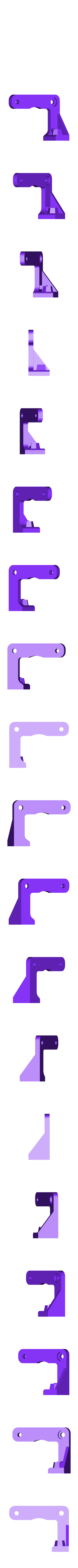 back_piece.STL Download free STL file mk8 extruder mod for  larger springs • 3D print design, Ghashnarb
