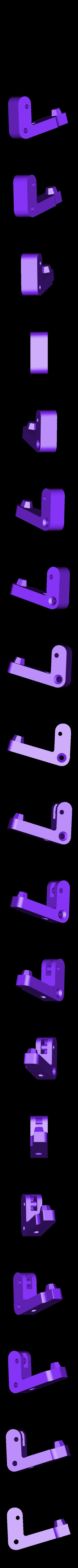 front_piece.STL Download free STL file mk8 extruder mod for  larger springs • 3D print design, Ghashnarb
