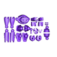 All_parts.stl Télécharger fichier STL gratuit RoboLabs Lunar Elite - Vertex • Design pour impression 3D, Yazhmog