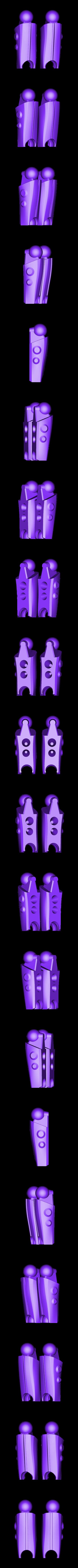 lower_legs.stl Télécharger fichier STL gratuit RoboLabs Lunar Elite - Vertex • Design pour impression 3D, Yazhmog