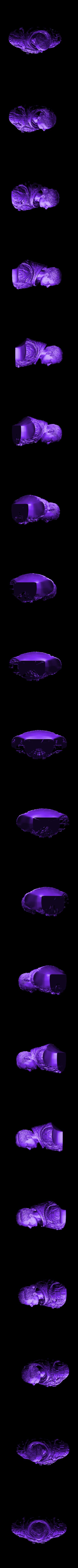 astronaut_bust_low.stl Download free STL file Astronaut Bust • 3D printing design, LSMiniatures