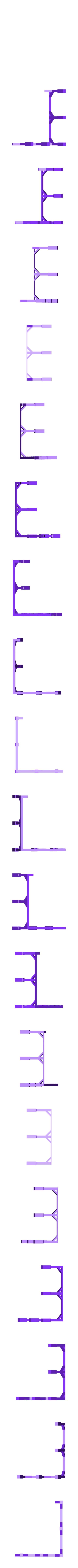 Pillars.stl Download free STL file HO Scale Two Story Farmhouse • Model to 3D print, kabrumble