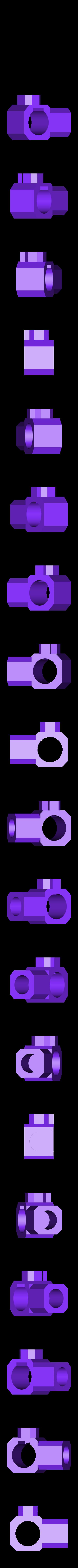MSTubeConnector.stl Télécharger fichier STL gratuit Support de microscope USB • Design pour impression 3D, Duskwin