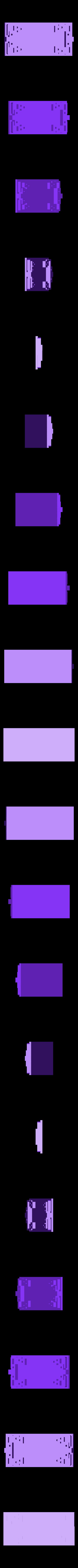 ConverterCase.stl Télécharger fichier STL gratuit LM2596 Boîtier de convertisseur d'alimentation DC-DC LM2596 • Design pour impression 3D, Duskwin