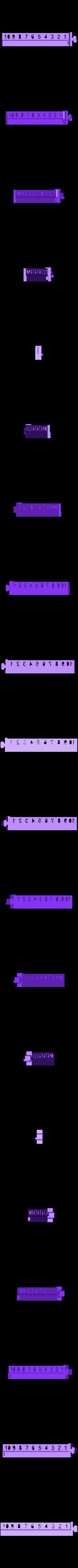 BeamL.stl Download free STL file Numerical Scale • 3D printable design, Duskwin