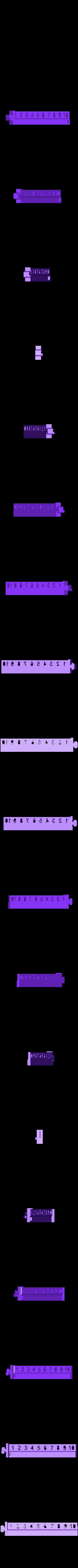 BeamR.stl Download free STL file Numerical Scale • 3D printable design, Duskwin