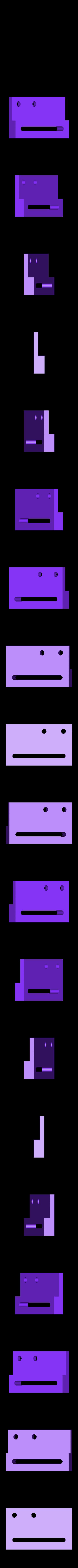 Z-SwitchPlate.stl Télécharger fichier STL gratuit Hadron (ORD Bot) Z Réglage fin • Objet pour impression 3D, Duskwin