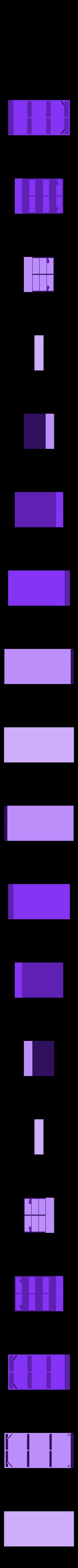 OrgBoxB.stl Télécharger fichier STL gratuit Organisateur d'ustensiles cosmétiques • Design à imprimer en 3D, Duskwin