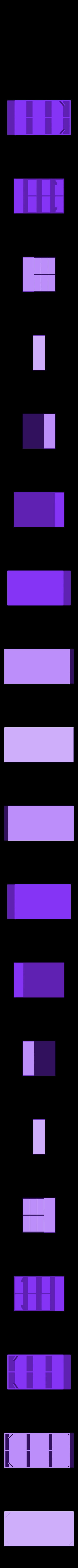 OrgBoxB18.stl Télécharger fichier STL gratuit Organisateur d'ustensiles cosmétiques • Design à imprimer en 3D, Duskwin