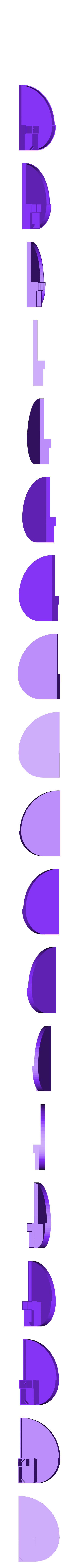 FibonacciOfficeOrgB.stl Download free STL file Fibonacci Office Organizer • 3D printer template, Duskwin