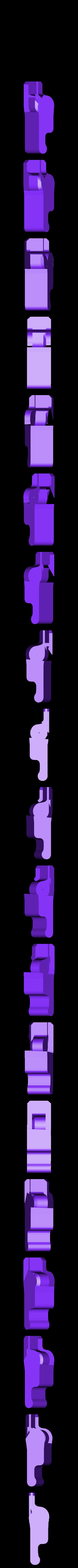whisleOpenerV2.1.stl Download free STL file Whistle Opener • 3D print design, Azagal