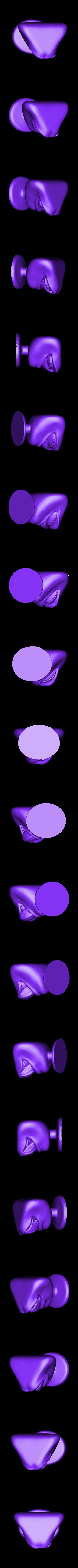 licking-lips.stl Télécharger fichier STL gratuit Lèches Lèvres Humaines • Plan à imprimer en 3D, quangdo1700