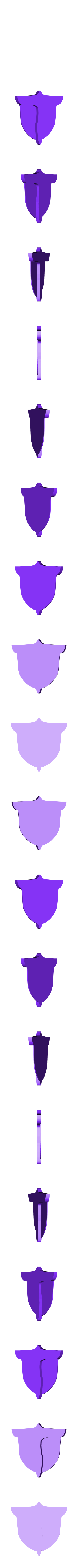 DarliFra_badge_base.stl Download free STL file Darling in the Franxx Badge • 3D printing design, sh0rt_stak