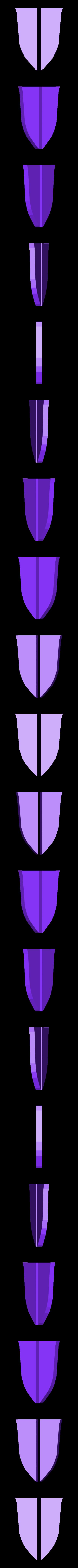 DarliFra_badge_outers.stl Download free STL file Darling in the Franxx Badge • 3D printing design, sh0rt_stak