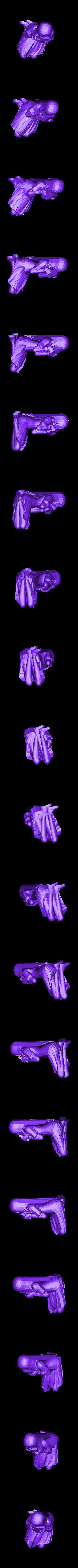 Hanako_hiding.stl Télécharger fichier STL gratuit Routes Katawa Shoujo • Modèle à imprimer en 3D, sh0rt_stak