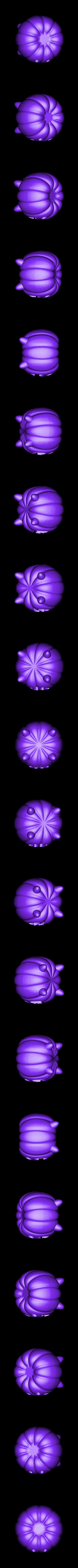 SU_Pumpkin.stl Télécharger fichier STL gratuit Steven Universe Citrouille • Modèle imprimable en 3D, sh0rt_stak