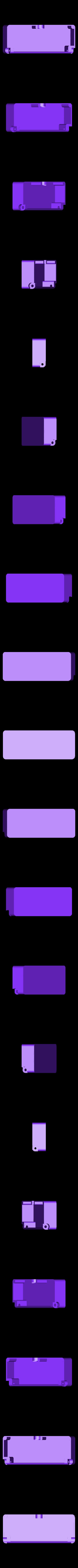 box-1.STL Télécharger fichier STL gratuit Boîte avec charnières cachées et verrouillage à clic • Objet à imprimer en 3D, 3d-dragar