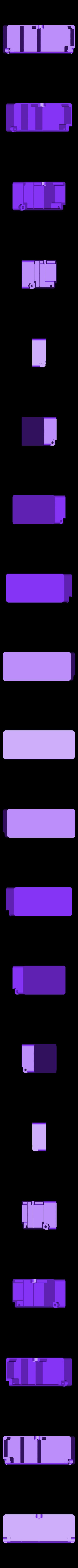 box-4.STL Télécharger fichier STL gratuit Boîte avec charnières cachées et verrouillage à clic • Objet à imprimer en 3D, 3d-dragar