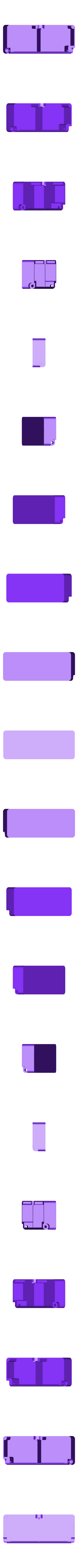 box-2.STL Télécharger fichier STL gratuit Boîte avec charnières cachées et verrouillage à clic • Objet à imprimer en 3D, 3d-dragar