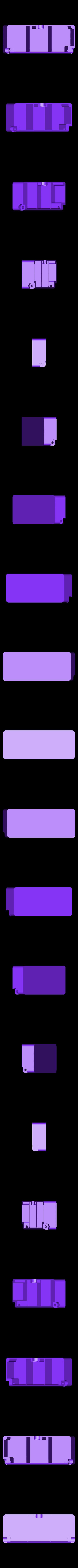 box-3.STL Télécharger fichier STL gratuit Boîte avec charnières cachées et verrouillage à clic • Objet à imprimer en 3D, 3d-dragar