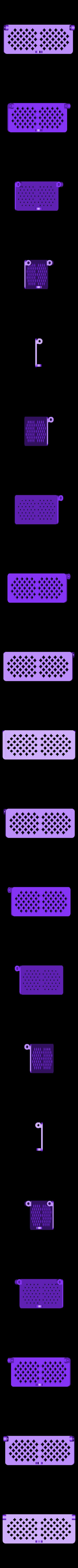 cover.STL Télécharger fichier STL gratuit Boîte avec charnières cachées et verrouillage à clic • Objet à imprimer en 3D, 3d-dragar
