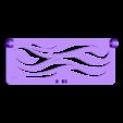 cover-curves.STL Télécharger fichier STL gratuit Boîte avec charnières cachées et verrouillage à clic • Objet à imprimer en 3D, 3d-dragar