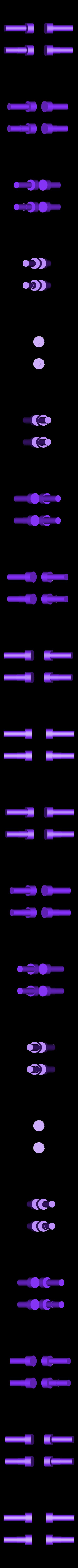pin.STL Télécharger fichier STL gratuit Boîte avec charnières cachées et verrouillage à clic • Objet à imprimer en 3D, 3d-dragar