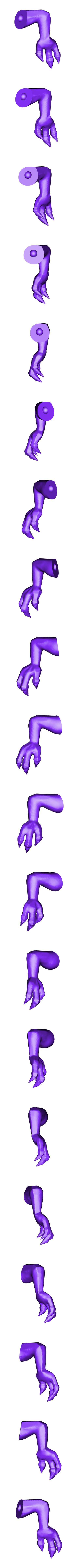 charizard_right_arm.stl Download free STL file Charizard • 3D print model, KerberosFi