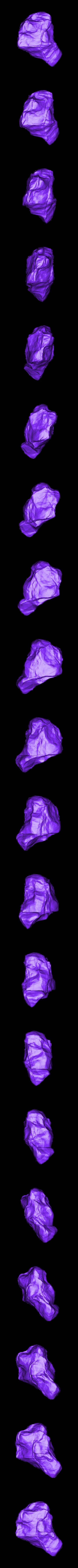 rock_SubTool1.stl Télécharger fichier STL gratuit Roches pour le wargame (collection de 18 roches haute résolution) • Design pour impression 3D, BREXIT
