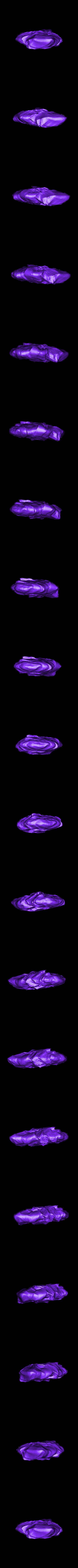 flat_rock_SubTool3.stl Télécharger fichier STL gratuit Roches pour le wargame (collection de 18 roches haute résolution) • Design pour impression 3D, BREXIT