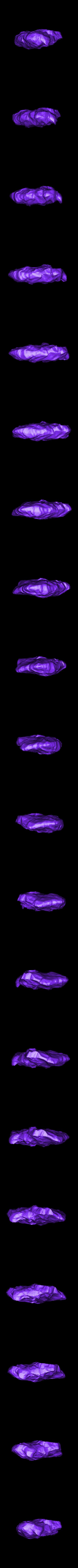 flat_rock_SubTool4.stl Télécharger fichier STL gratuit Roches pour le wargame (collection de 18 roches haute résolution) • Design pour impression 3D, BREXIT