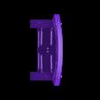 Wood_Door_-_Closed.stl Download free STL file Wood Dungeon Door - Hinged, Open/Closed, & Slide In • 3D printing model, RobagoN