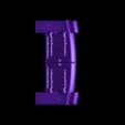 Wood_Door_-_Working_Lower.stl Download free STL file Wood Dungeon Door - Hinged, Open/Closed, & Slide In • 3D printing model, RobagoN