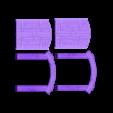 Wood_Door_-_Slide_In_Split.stl Download free STL file Wood Dungeon Door - Hinged, Open/Closed, & Slide In • 3D printing model, RobagoN
