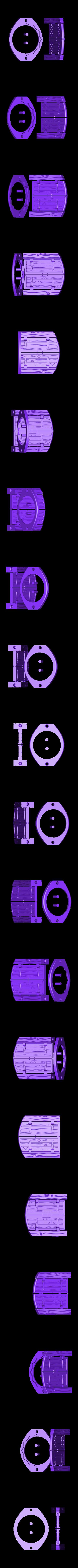 Wood_Door_-_Working_No_Arch.stl Download free STL file Wood Dungeon Door - Hinged, Open/Closed, & Slide In • 3D printing model, RobagoN