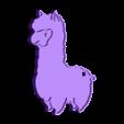 lama.stl Télécharger fichier STL gratuit lama keychain • Design à imprimer en 3D, Motek3D