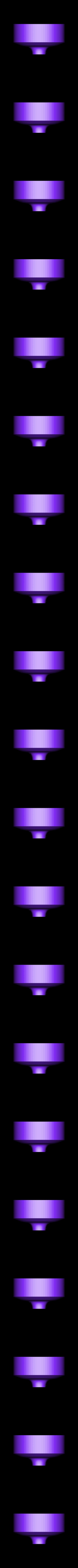 funnel.stl Télécharger fichier STL gratuit entonnoir avec crépine pour résine et autre trou de 25mm de diamètre • Modèle à imprimer en 3D, mariospeed