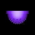 strainer.stl Télécharger fichier STL gratuit entonnoir avec crépine pour résine et autre trou de 25mm de diamètre • Modèle à imprimer en 3D, mariospeed