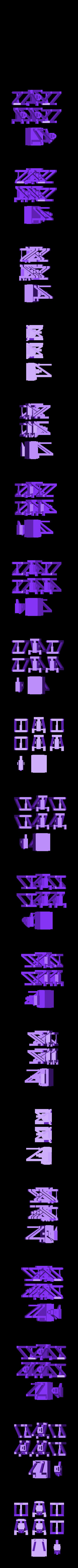 stackable_bisj_component.stl Télécharger fichier STL gratuit Bisj empilable de base • Design à imprimer en 3D, Slagerqod