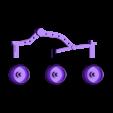 Sojourner_bogey_wheels.stl Télécharger fichier STL gratuit Mars Rover : Sojourner • Modèle imprimable en 3D, Slagerqod