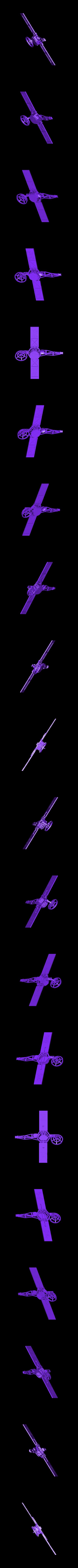Assembled_Mariner.stl Download free STL file Mariner • 3D printable object, Slagerqod