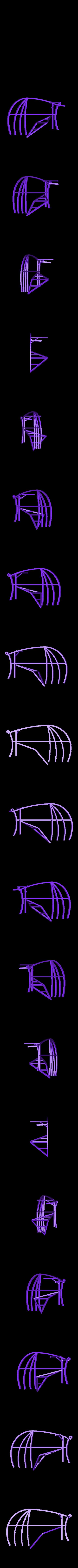 Glider_WR_tail.stl Download free STL file Leonardo Da Vinci - Ornithoper • Design to 3D print, Slagerqod