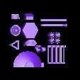 ALL_Components_Pioneer_scaled.stl Télécharger fichier STL gratuit Pionnier • Design pour impression 3D, Slagerqod